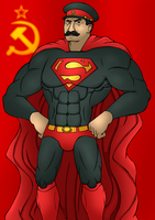 Stalin, Man of Steel by Ironwolf09