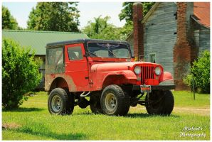 A CJ-5 Jeep by TheMan268