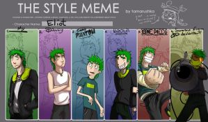 THE style meme by crow559