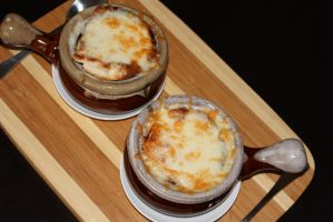 French Onion Soup by portraitofadoll