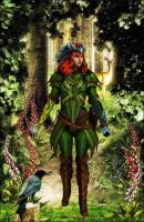 Guardian of the forest by Lady-Lili