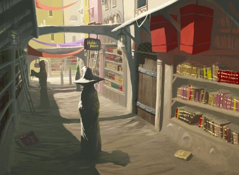Library Street by 632Fan