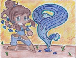 LoK: WATERBENDING by ImmaRainbowNinja