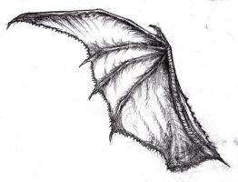 Dragon Wing Tattoo Concept by KingOvRats