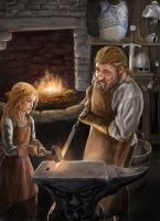 Blacksmith by dashinvaine