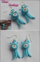 HM: Wisps Earrings by vitav