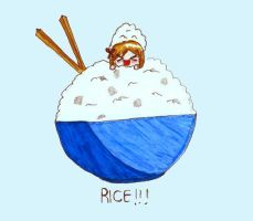 RICE by greentomatoes