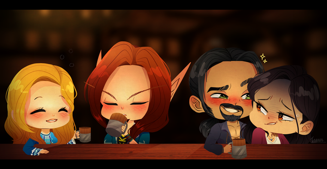 Fun Bar Night - PayPal Commission by tunasoba
