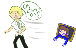 DX COME ON! by OniChick63