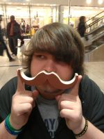 Me And My Natural Mustache by dylrocks95