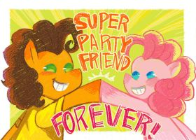 Super Party Friend by WortCat
