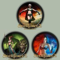 Spellforce 2 Icons by kodiak-caine