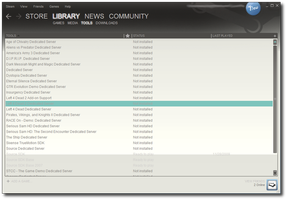 Steam Skin New UI - 02.05.2010 by Streetster20