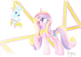 Request: Firework and Cadence by Zyncrus