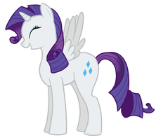 Alicorn Rarity by CordisaWire