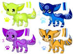 Wolf/dog adopts - name your price by Ivon-Cheetah