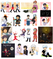Gintama things by Tetris-Fan