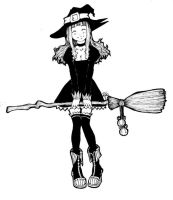Witch Girl by BeckiebooTwo