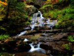 Leatherstocking Falls in HDR by cove314