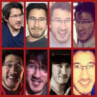 Markiplier Face collage by MalGirl101