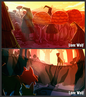 Lone Wolf- Concept Sheet 01 by Gashu-Monsata