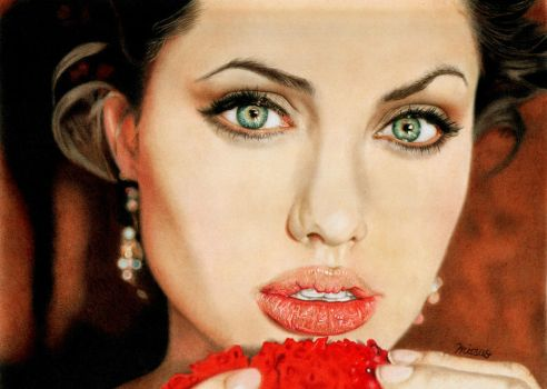 Angelina Jolie by MITSUO2