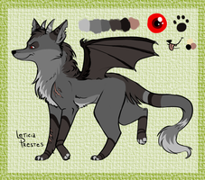 wolf-bat mix adopt closed by leticiaprestes