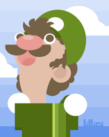 Luigi by Child-Of-Neglect