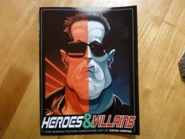 Heroes and Villains Book Proof by kgreene