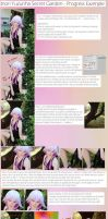 Photoshop Tutorial for Inori Cosplay by NarutoLover6219