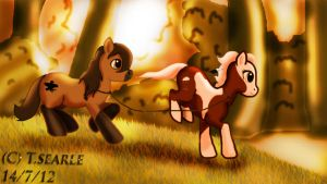 Contest Entry : Come wander with me love by lightningxwisper