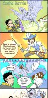 Monster Hunter Comic Short Kusha Fight by macawnivore