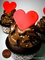 Choco Lover Faux Cupcake by CreativeAbubot