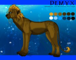 Demyx - Pride XIII Design by soulspoison