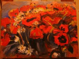 Poppies by tiger-lily-russia