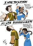 Zuko and Katara equals DRAMA by GingerOpal