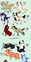 2 Point Adoptables .:Closed:. by AdoptAllTheThings