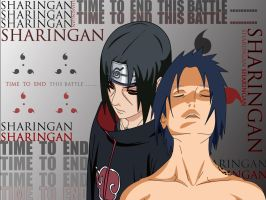 Sasuke Itachi Final Battle by Illusionator