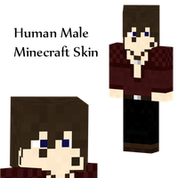 Human Male Minecraft Skin by Amayanina