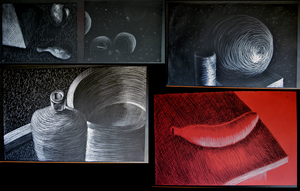 Mark Making Process by guilleum2