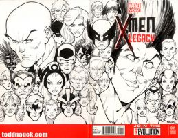 X-Men Legacy sketch cover by ToddNauck