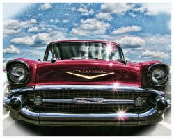 57 chevy by ngdawg