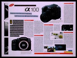 Sony DSLR Camera by kn33cow
