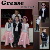 GREASE is the word by southernstingray