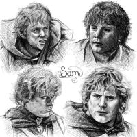 Sam sketches by Manweri