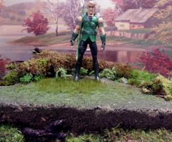 Green Arrow Diorama Seattle by skphile