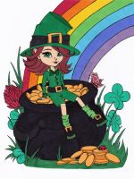 Pot of Gold Colored by Maiko-Girl