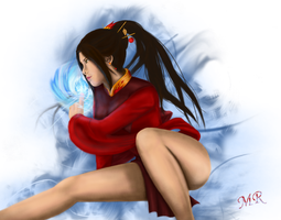Princess Azula by MomentRising