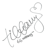 SNSD Tiffany Signature ~PNG~ by JaslynKpopPngs