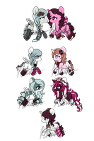 DeadlyxLollipop Foals - CLOSED by Kikuko-Keika